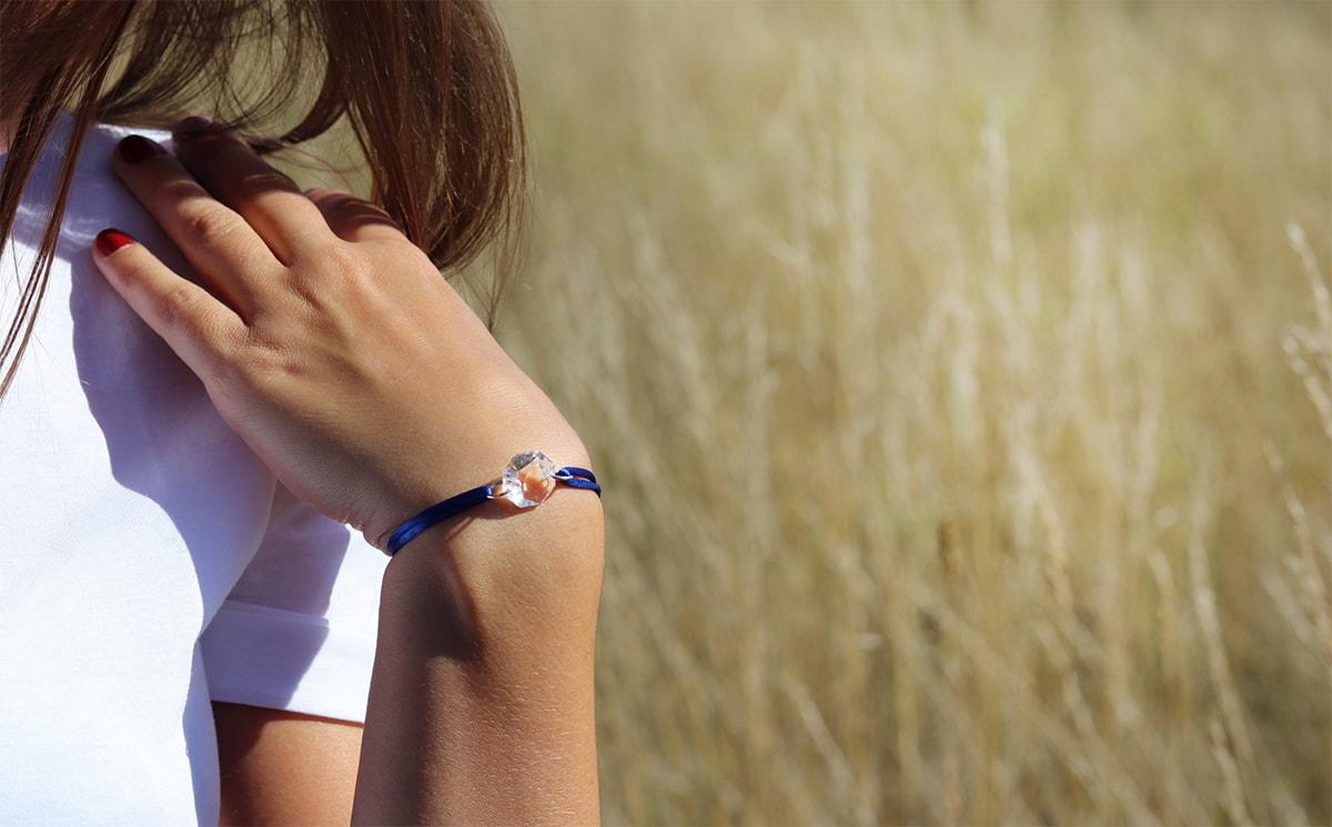 bracelet cristal clair