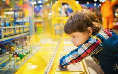 Les jouets adaptés selon les âges